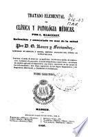 Tratado elemental de clinica y patología médicas