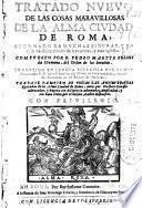 Tratado nuevo de las cosas maravillosas de la alma ciudad de Roma