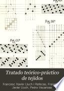 Tratado teórico-práctico de tejidos