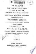 Tratados de legislación civil y penal