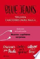 Trilogía Canciones para Paula (pack)