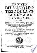 Triunfo del Santo Misterio de la Vera Cruz de la Villa de Cervera