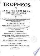 Tropheos y antigüedades de la imperial Zaragoza