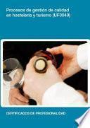 UF0049 - Procesos de gestión de calidad en hostelería y turismo