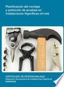 UF1028 - Planificación del montaje y protocolo de pruebas en instalaciones frigorificas