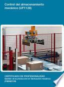 UF1128 - Control del almacenamiento mecánico