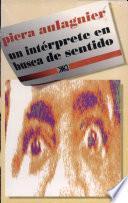 Un intérprete en busca de sentido