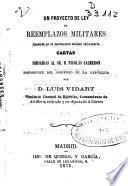 Un proyecto de ley de reemplazos militares
