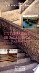 Universidad de Salamanca, escuelas mayores