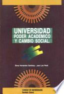 Universidad, poder académico y cambio social