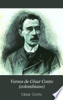 Versos de César Conto (colombiano)