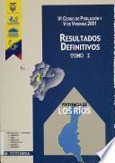 VI censo de población y V de vivienda, 2001: Provincia de Sucumbíos