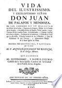 Vida de D. Juan de Palafox y Mendoza