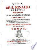 Vida de S. Ignacio de Loyola fundador de la Compañia de Jesus, 2