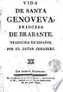 Vida de Santa Genoveva, princesa de Brabante