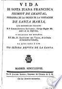 Vida de Santa Juana Francisca Fremiot de Chantal
