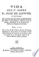 Vida del V. Padre Fr. Juan de Alcovér