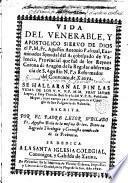 Vida del venerable, y apostolico siervo de Dios el P. M. Fr. Agustin Antonio Pascual... de la regular observancia de S. Agustin...