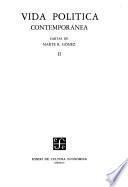 Vida política contemporánea