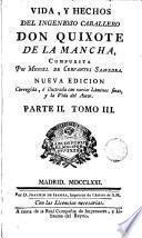 Vida y hechos del ingenioso caballero don Quixote de la Mancha, 3