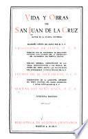 Vida y obras completas de San Juan de la Cruz