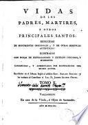 Vidas de los Padres, Mártires y otros principales Santos