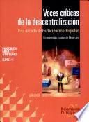 Voces críticas de la descentralización