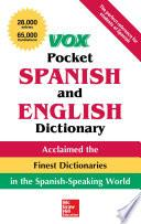 Vox Pocket Spanish-English Dictionary