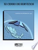 XI Censo de Servicios. Censos Económicos 1994