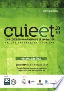 XVIII Congreso Universitario de Innovación Educativa en las Enseñanzas Técnicas