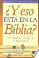 Y Eso Esta en la Biblia?